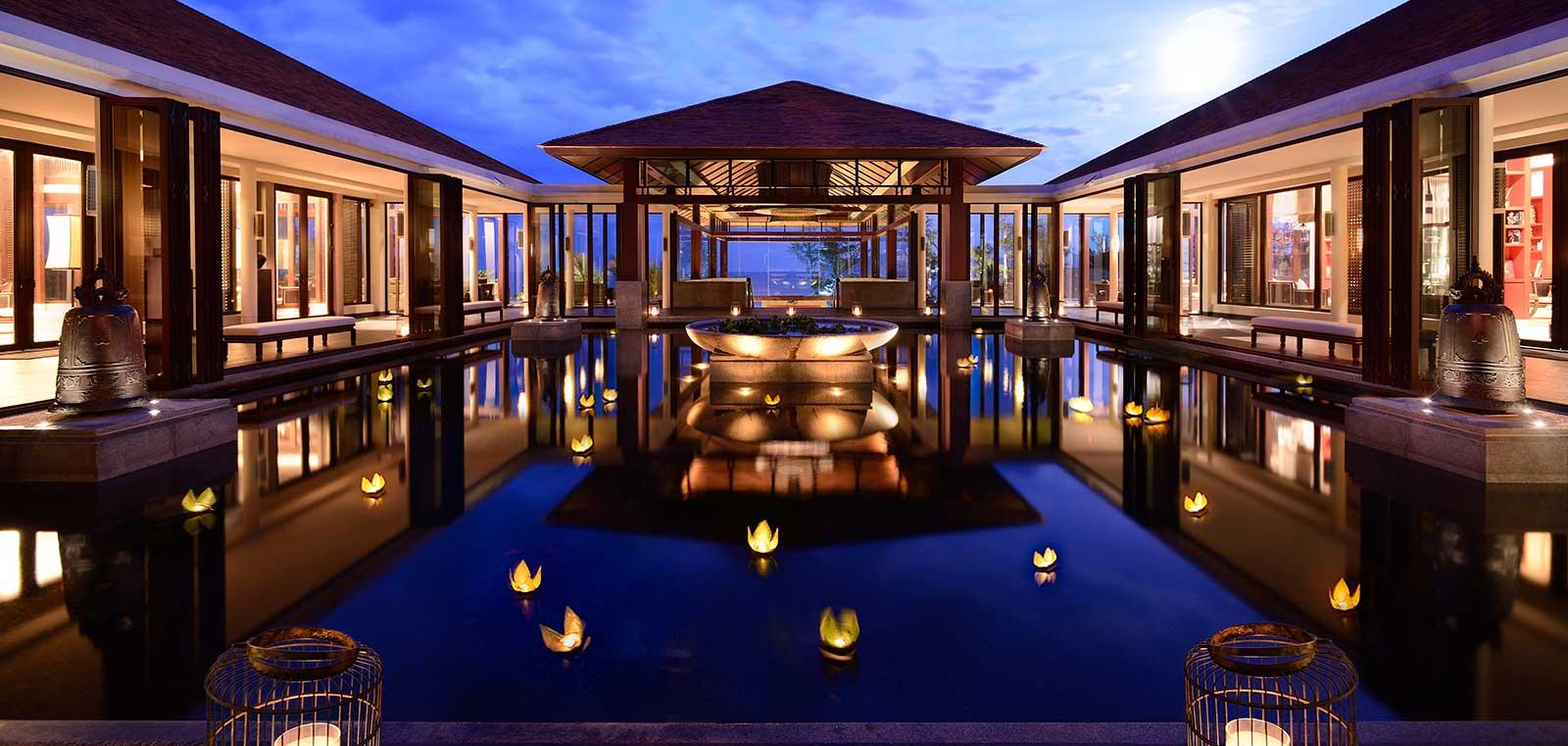 Khu nghỉ dưỡng Banyan Tree Lăng Cô, Lăng Cô resort, Huế (đại sảnh)