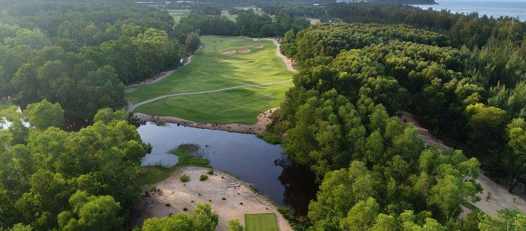 Hố 12, sân gôn Laguna Golf Lăng Cô, Sân Gôn tốt nhất Châu Á