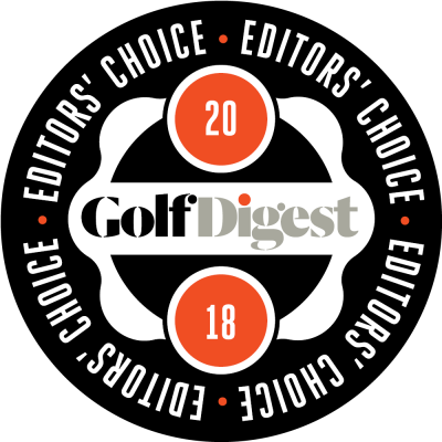 Logo 2018 Editor's Choice Award - Golf Digest - Laguna Golf Lang Co