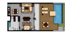 Angsana-Lang-Co-Hotel-Courtyard-Beachfront-Seaview-One-Bedroom-Suite-Floorplan