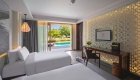 Courtyard | Beachfront Pool Suite Two Bedrooms, Angsana Lang Co resort, Hue, Vietnam (2)