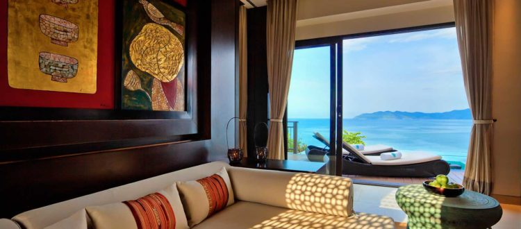 One Bedroom Seaview Hill Pool Villa | Banyan Tree Lang Co, Central Vietnam