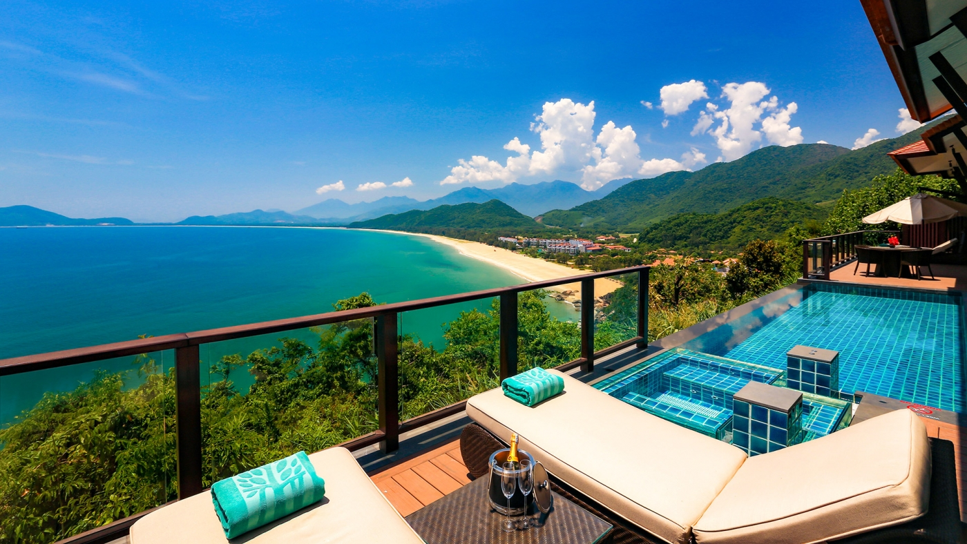 Three Bedroom Seaview Hill Pool Villa Banyan Tree Lang