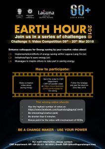 Earth Hour poster page 1
