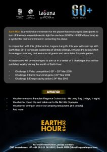 Earth Hour poster page 2