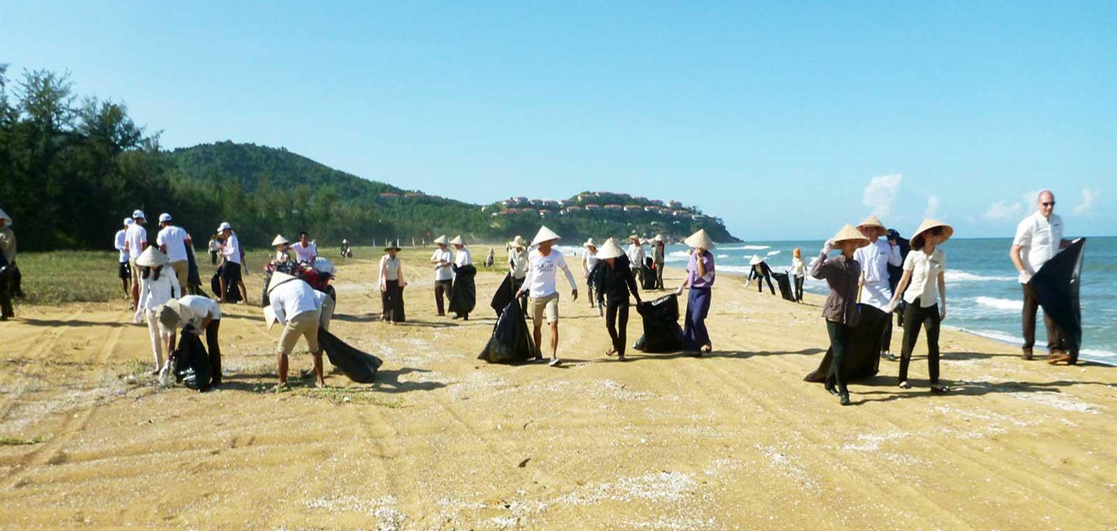 Laguna Lăng Cô, Cleaning Campaign