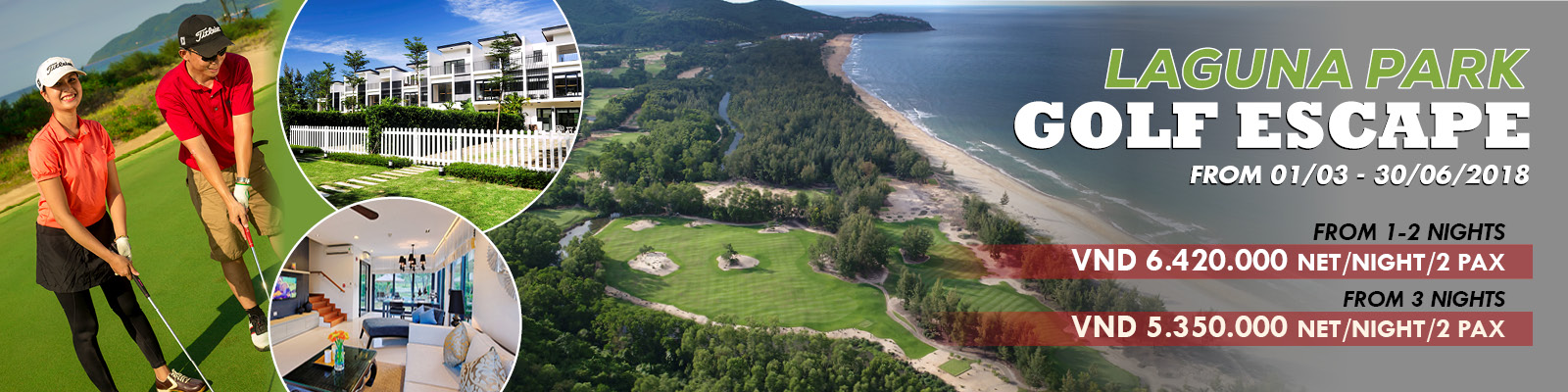 Laguna Park Golf Escape