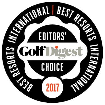 Giải thưởng Sân golf resort tốt nhất châu Á