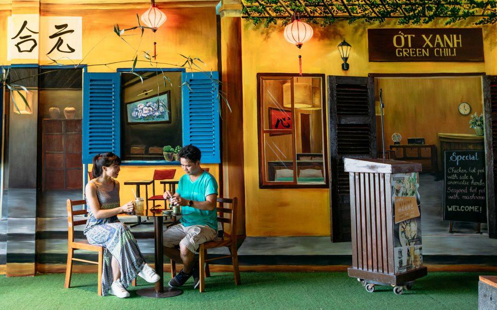 Lifestyle café and mini mart