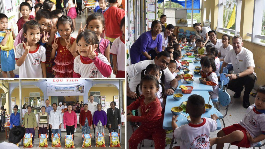 Laguna Lăng Cô has successfully organized the Feeding Community Together program 2017 Day 2