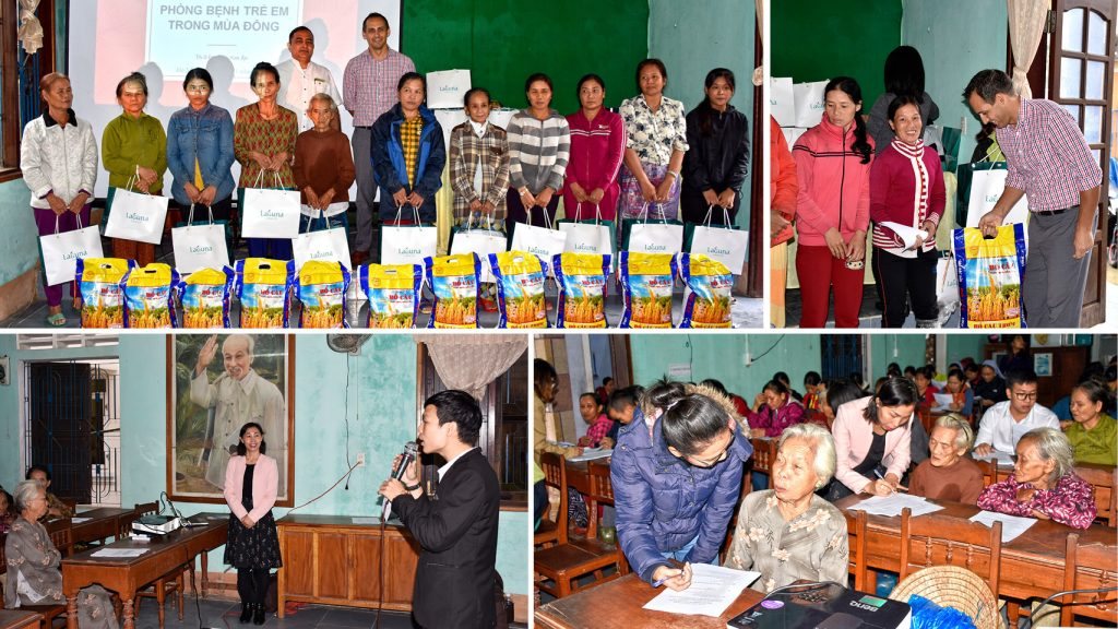 Winter warmth is an annual project of Laguna Lăng Cô with the aim to enhance the better living quality in winter for disadvantaged families at Phu Loc district.