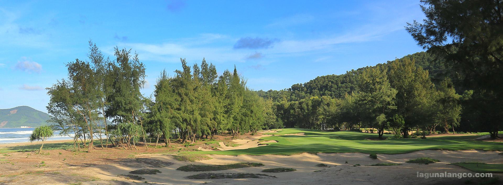 Hố số 9, sân gôn Laguna Golf Lăng Cô