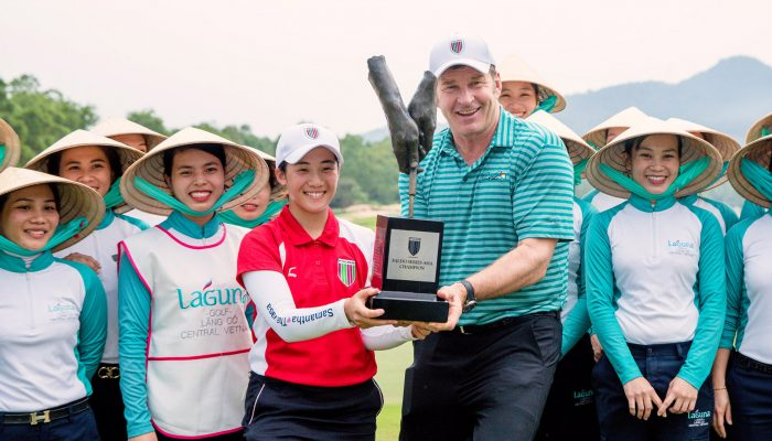 Suzuka Seals Historic Success at Faldo Series Asia Grand Final