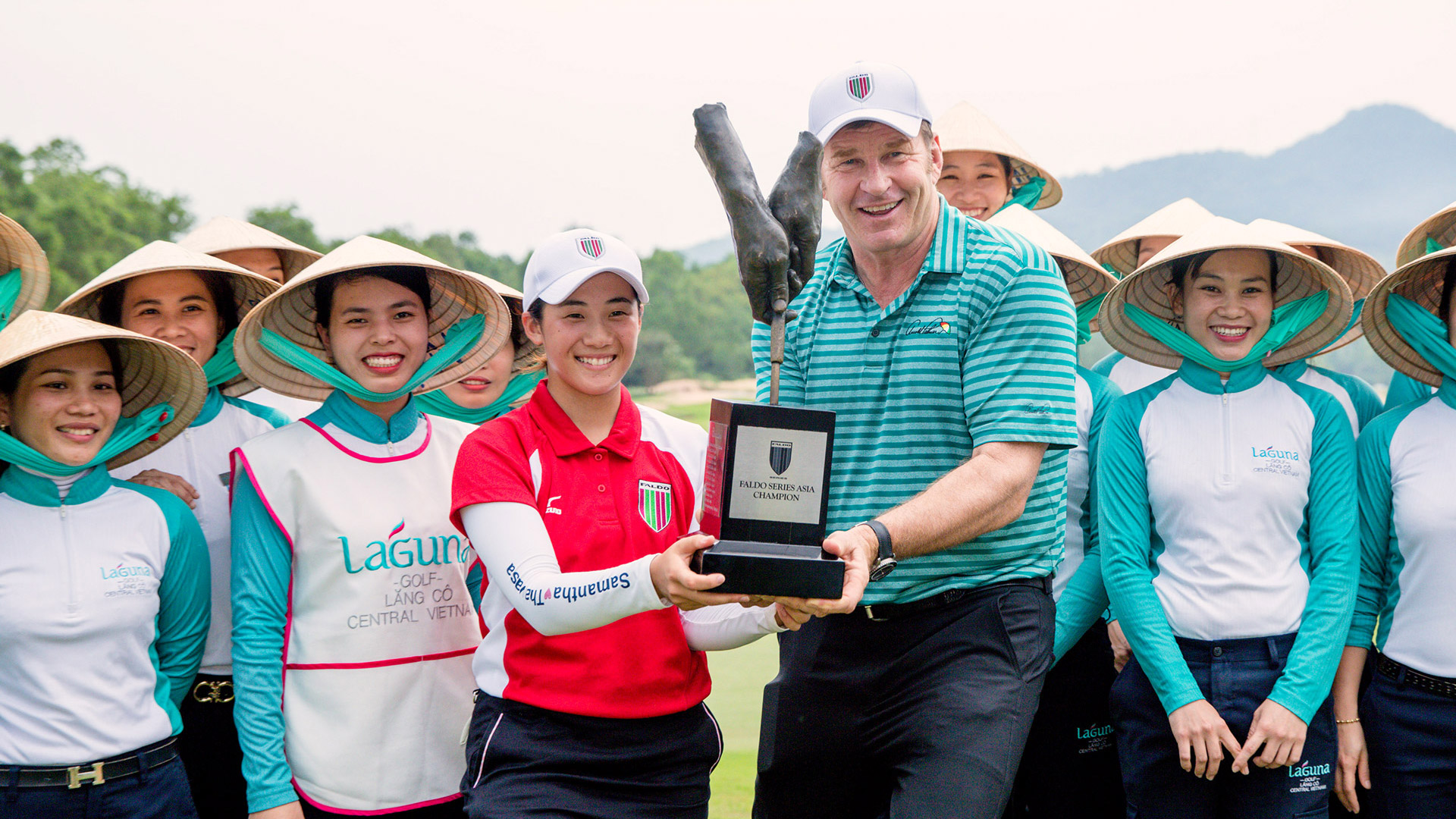 Suzuka Seals Historic Success at Faldo Series Asia Grand Final