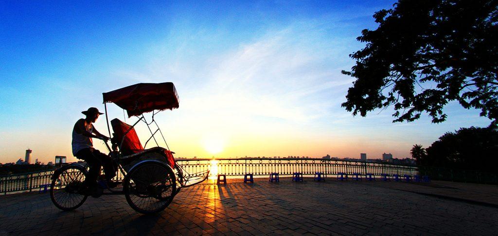 Xe xích lô của người Việt