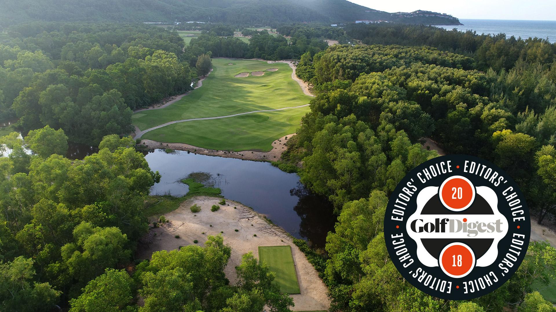 "Laguna Lăng Cô received Golf Digest Editor's Choice Award 2018 for ""Best Golf Resort In Asia - Vietnam"