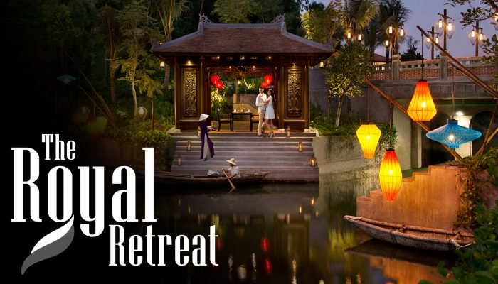 """""""The Royal Retreat"""" offers package"""