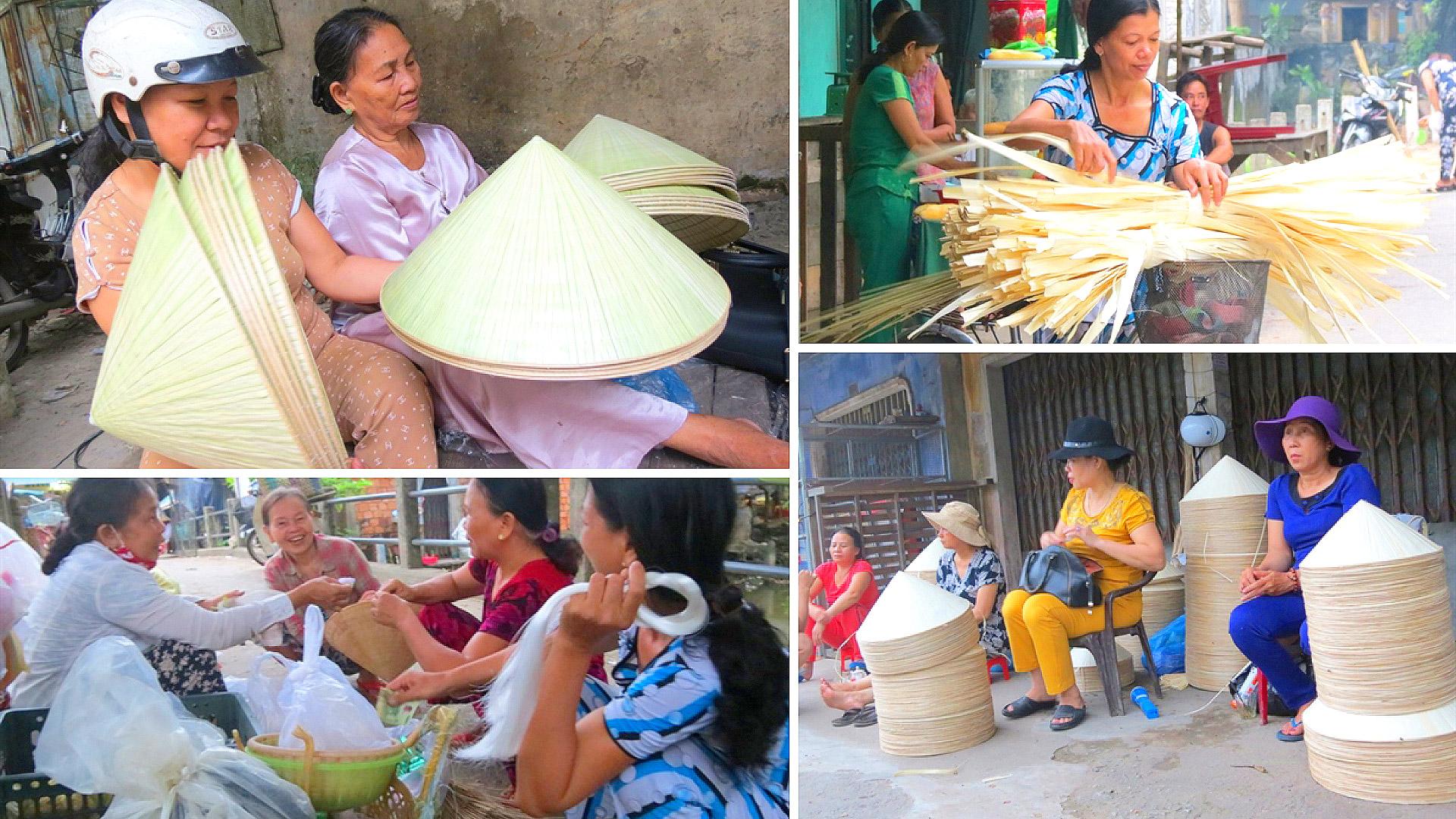 Chợ nón lá Dạ Lê, Thừa Thiên Huế