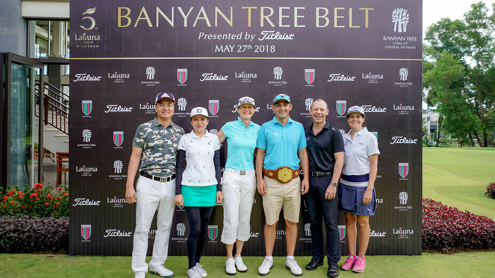 Banyan Tree Belt – an honoring tournament hosted on Faldo's favorite design