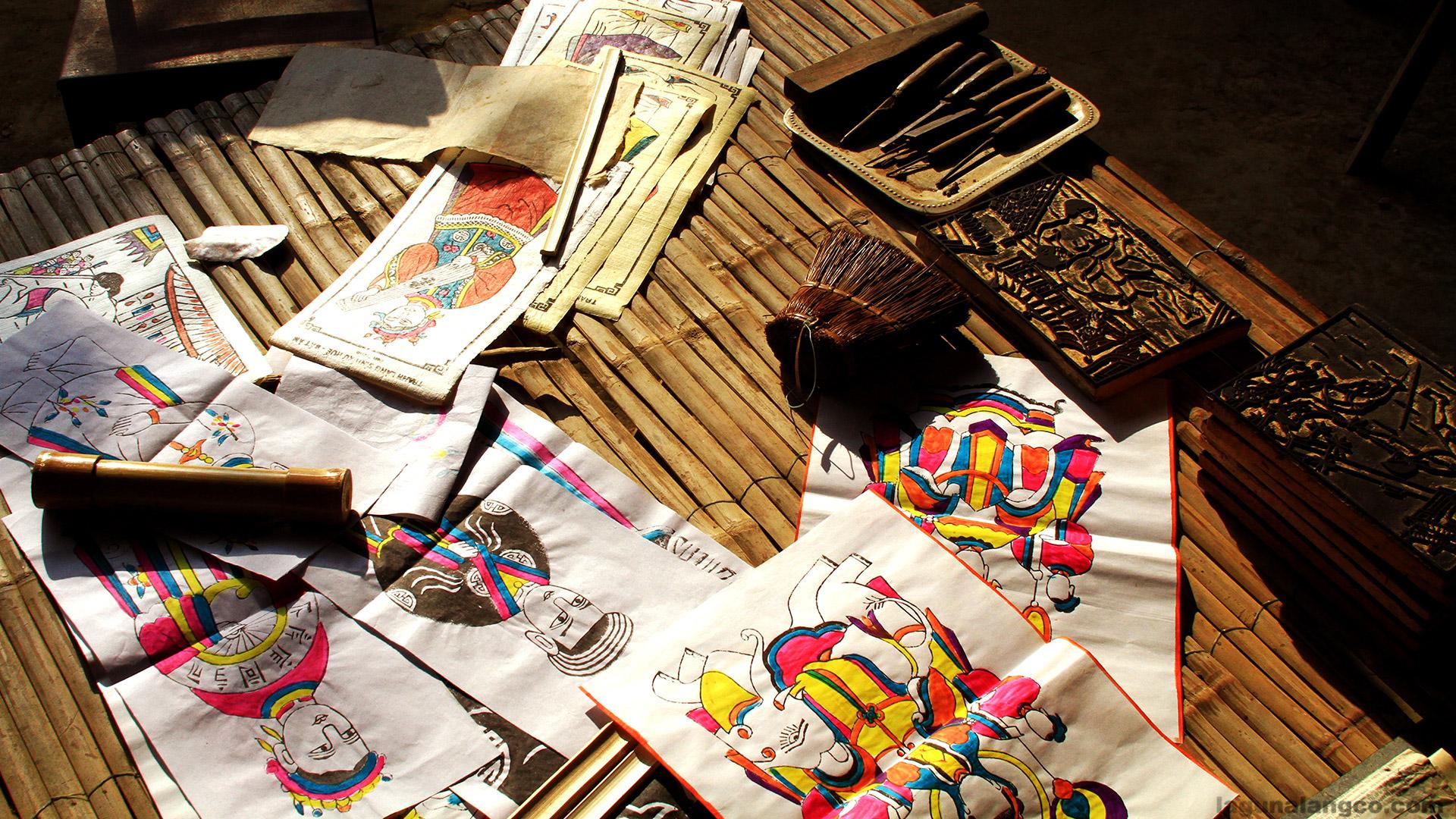 Nghề làm tranh làng Sình, Thừa Thiên Huế