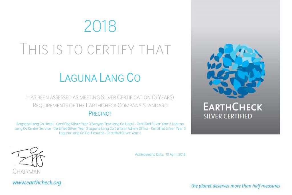 Silver Earth Check Digital Certification