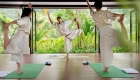 Yoga Banyan Tree Laguna Lang Co beach resort