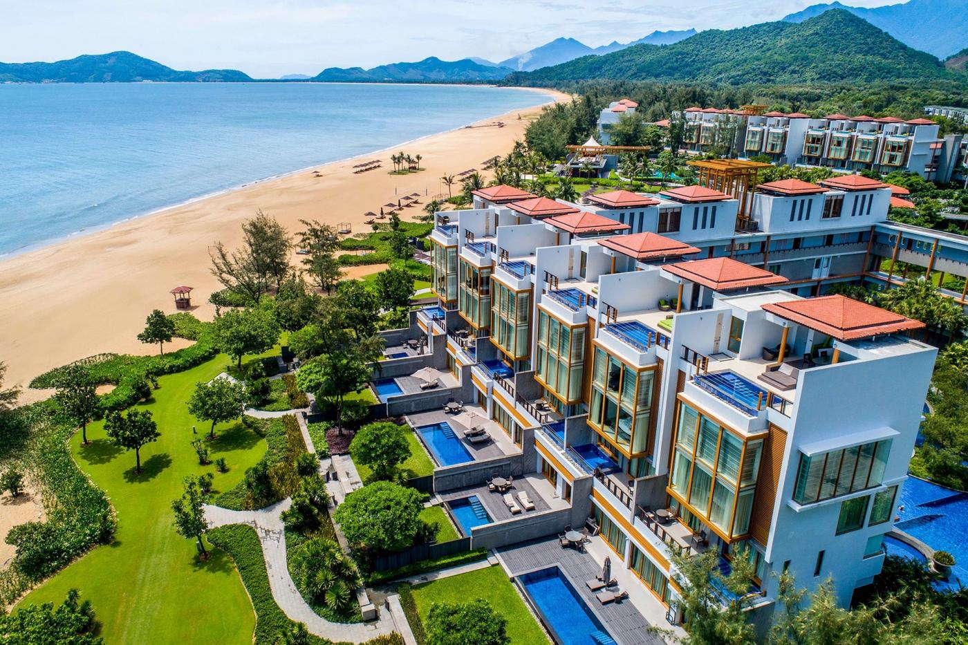 Kết quả hình ảnh cho Discover the beach hotel resort Hidden Getaway – Angsana Lang Co.