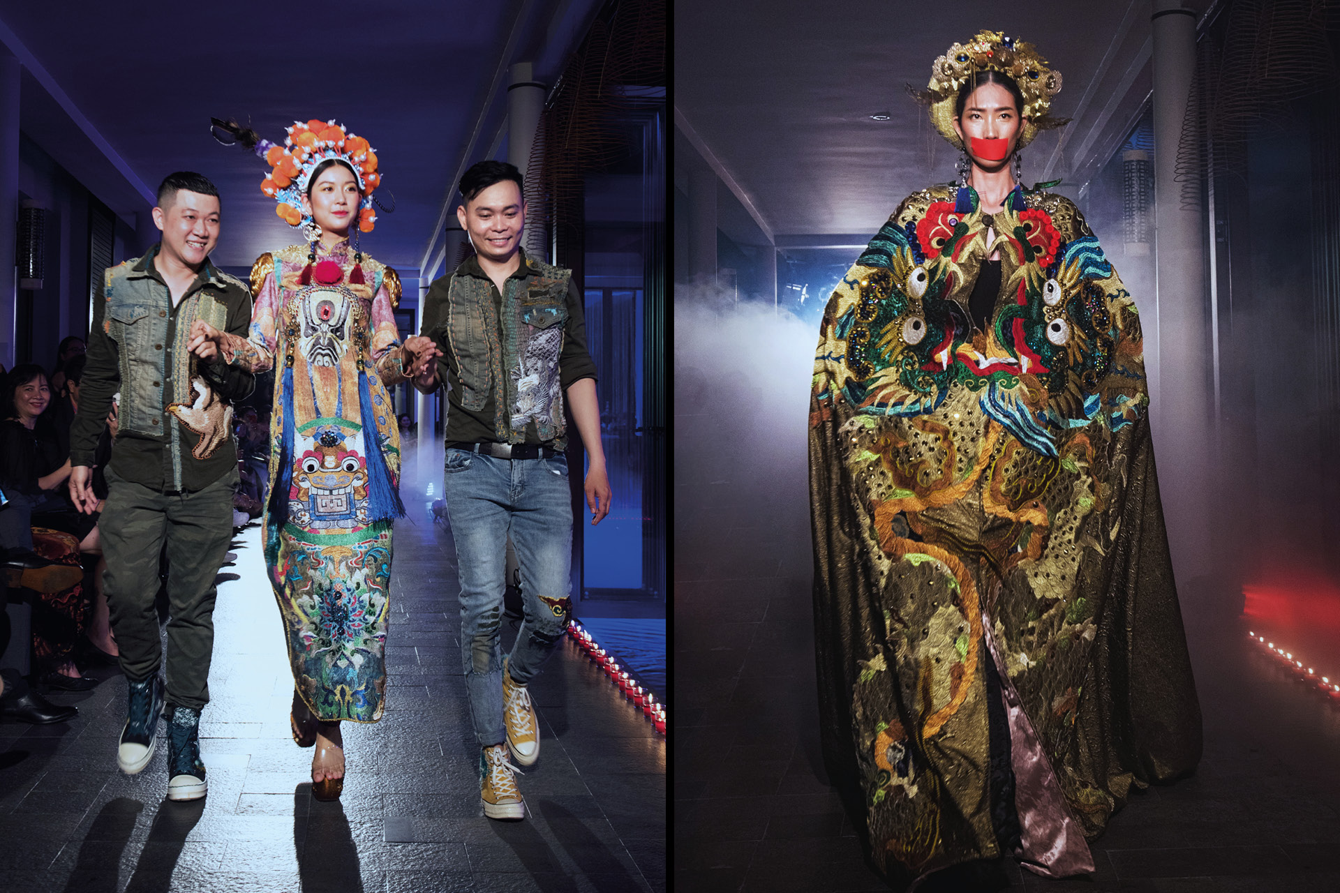 hai nhà thiết kế trẻ Thế Huy – Hải Long