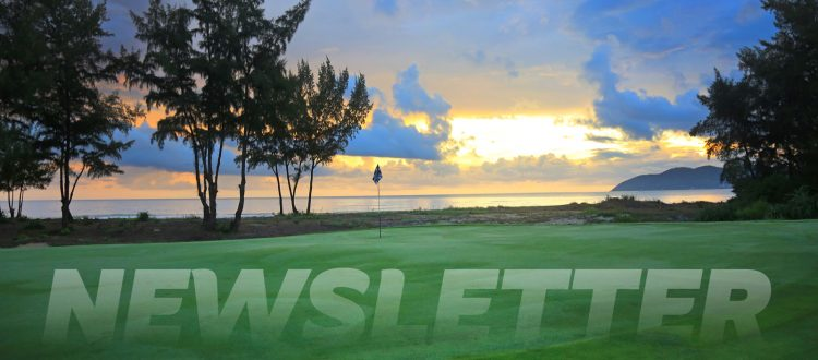 Laguna Golf Newsletter banner