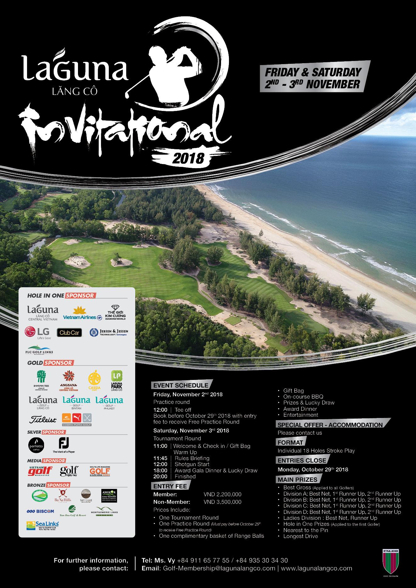 Laguna Lang Co Invitational 2018 tournament poster