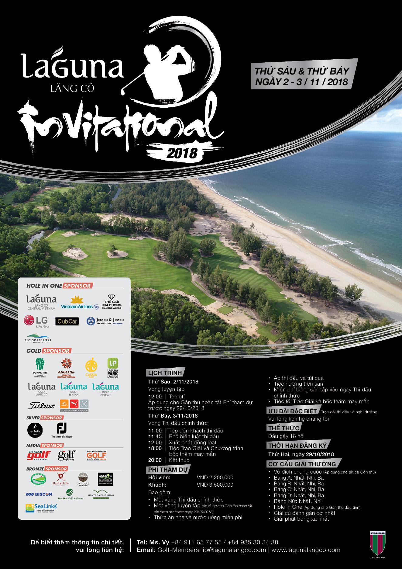 Giải đấu Laguna Lăng Cô Invitational 2018