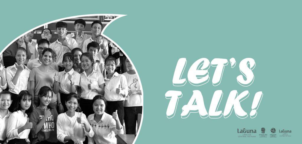 Chương trình học tiếng anh Lets Talk - Laguna Lang Co CSR