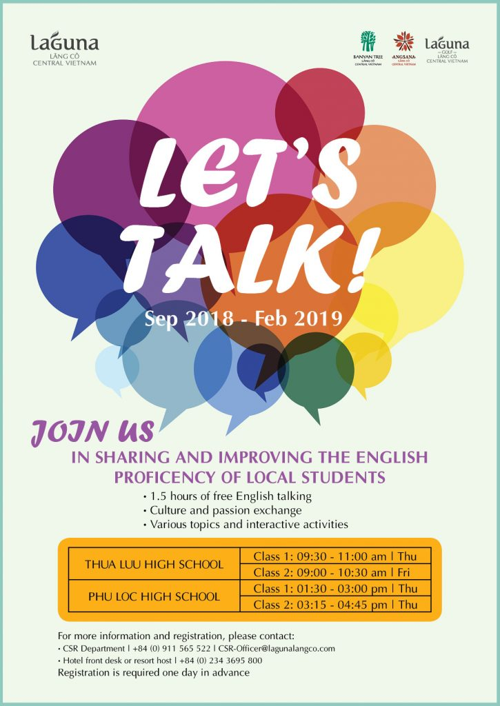 Lets Talk Program Laguna Lang Co CSR poster 1