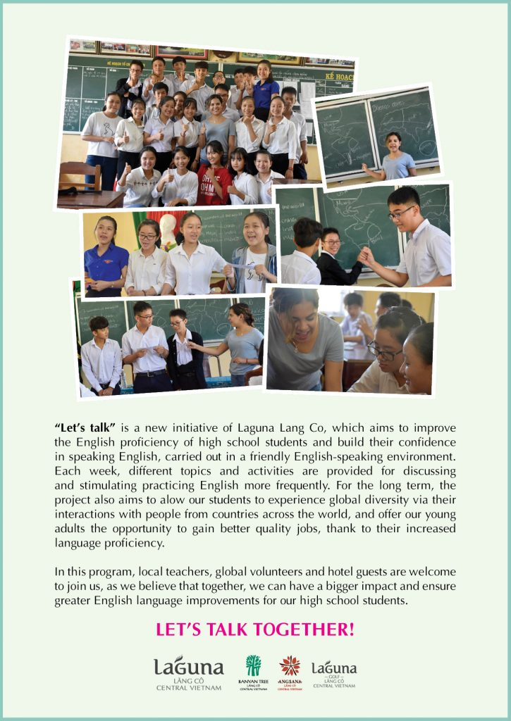 Lets Talk Program Laguna Lang Co CSR poster 2