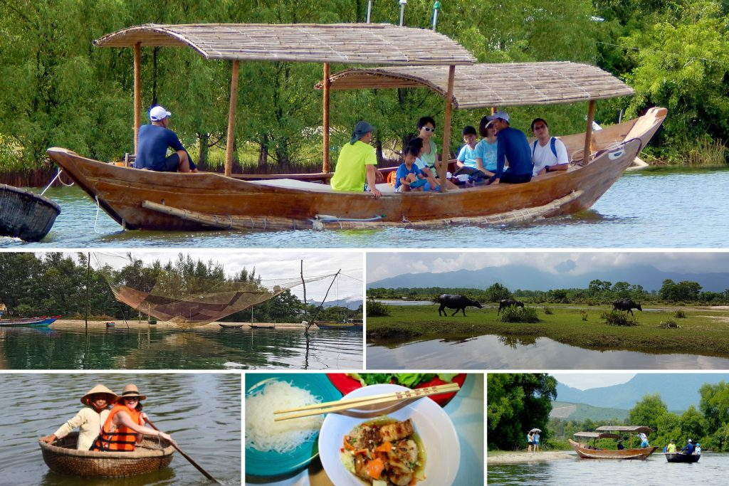 Vietnamese Wooden Boat Safari