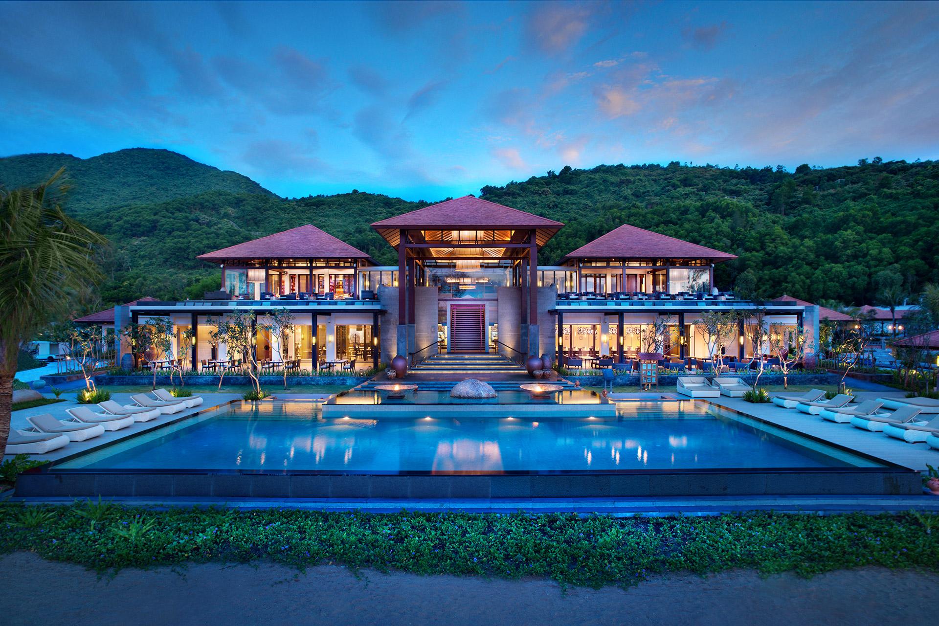 Khách sạn Banyan Tree thuộc khu phức hợp nghỉ dưỡng Laguna Lăng Cô