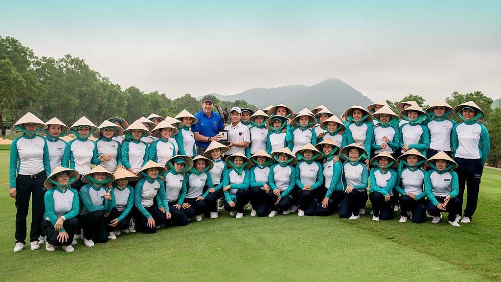 Faldo Series Asia Grand Final champion in 2017