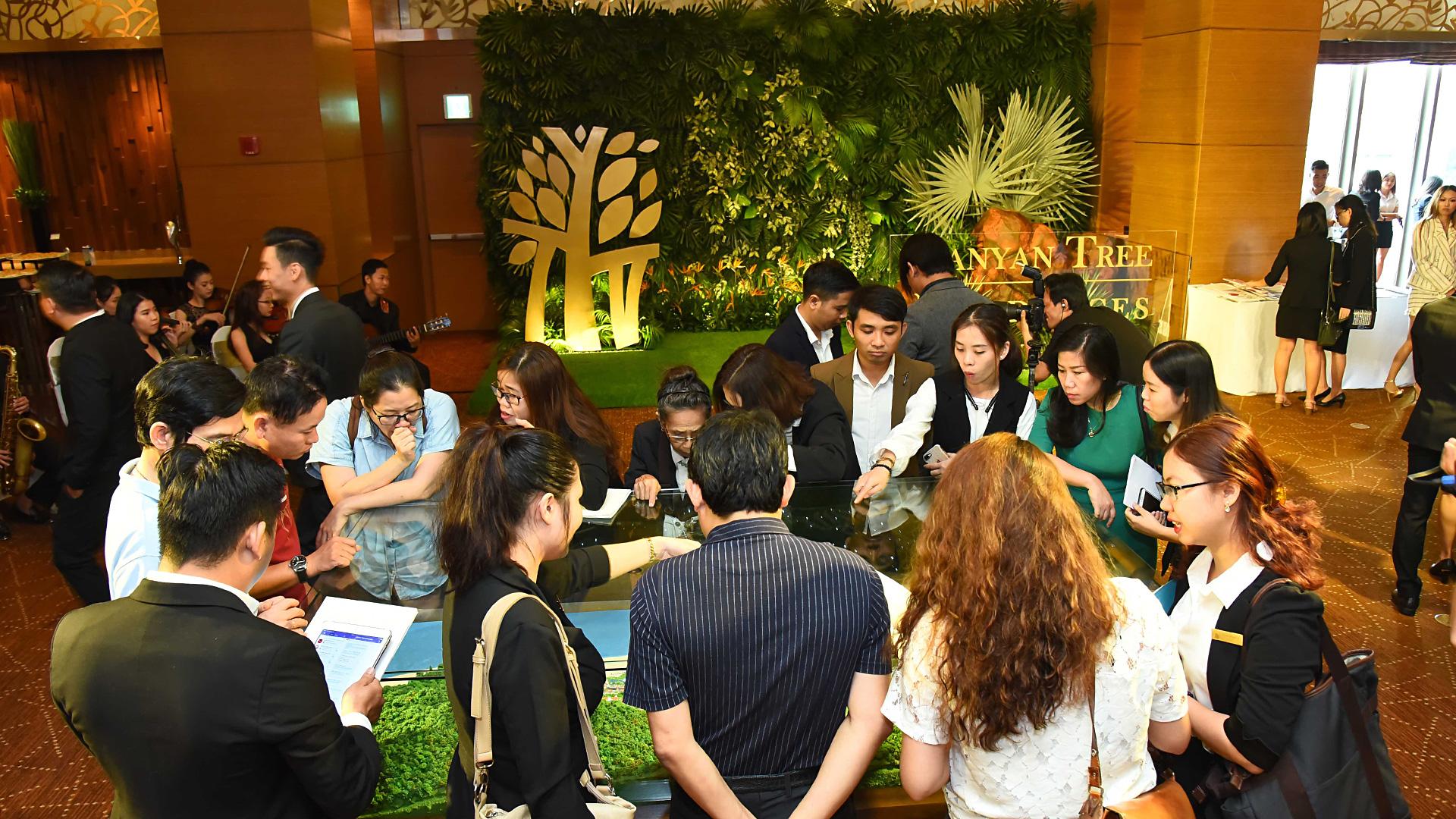 Sự kiện giới thiệu khu biệt thự biển Banyan Tree Residences