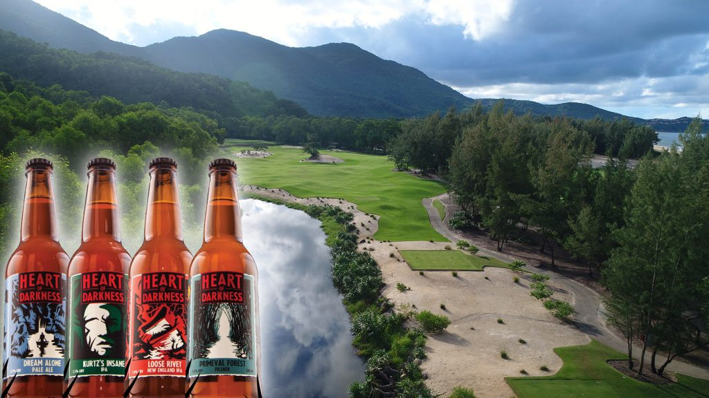 TASTE THE DARKNESS - Golf Daily Promotion