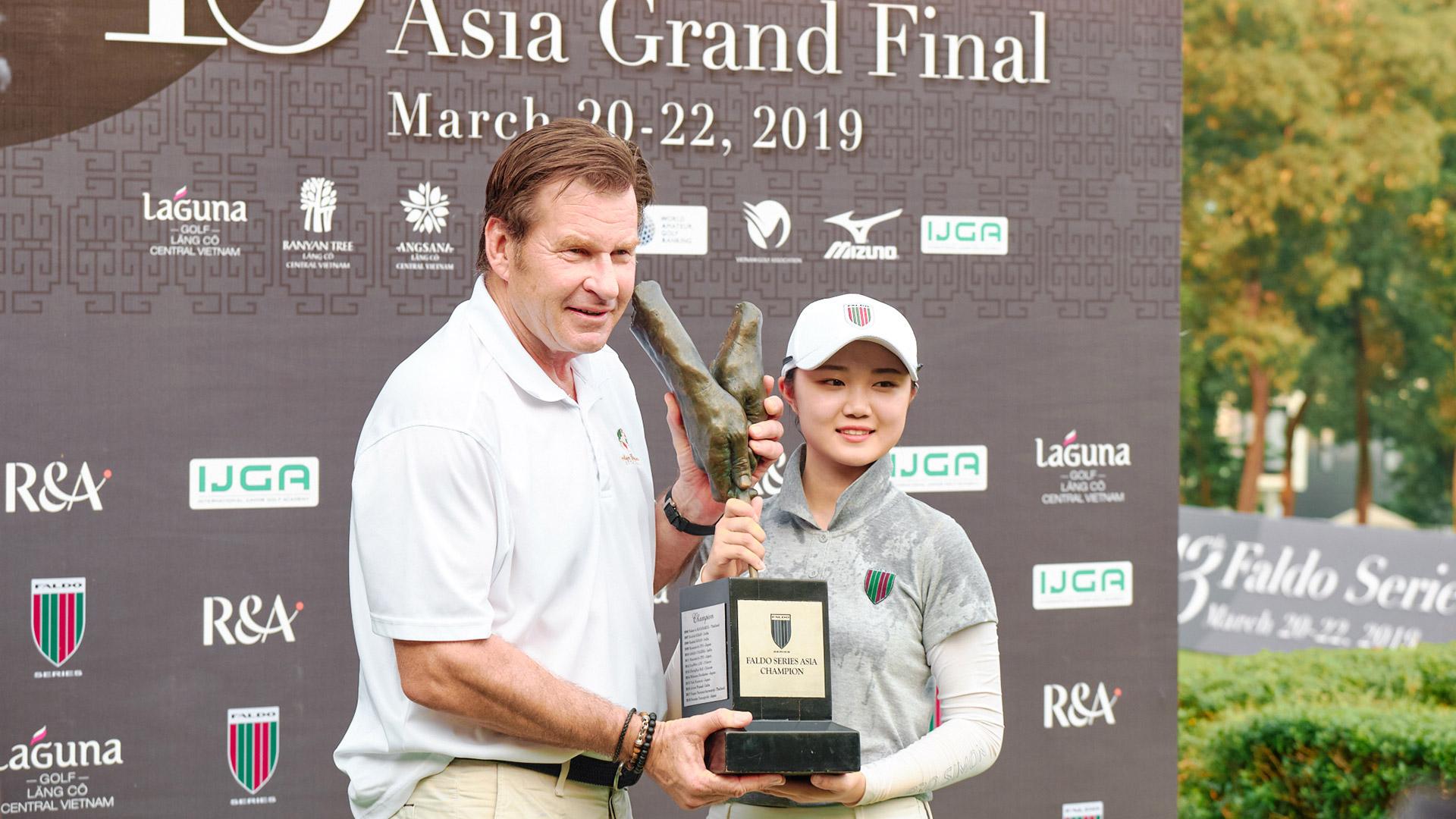 Vòng Chung Kết Faldo Series Châu Á