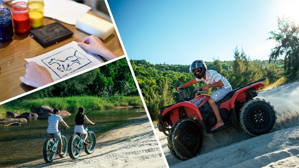 Land Activities-Handicraft-ATV Ride